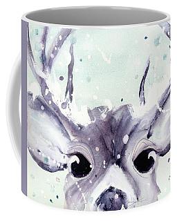 Coffee Mug featuring the painting Buck by Dawn Derman