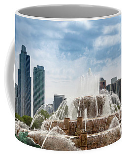 Buckingham Fountain In Chicago Coffee Mug