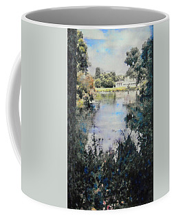 Buckingham Palace Garden - No One Coffee Mug by Richard James Digance