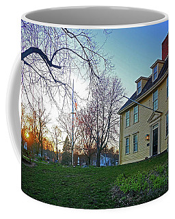 Buckman Tavern At Sunset Coffee Mug