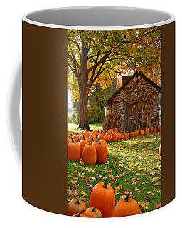 Bucks County In The Fall Coffee Mug by Scott Mahon