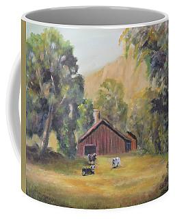 Bucks County Pa Barn Coffee Mug