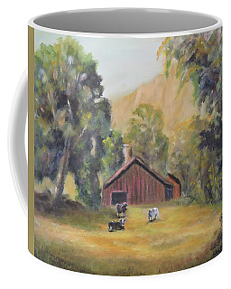 Bucks County Pa Barn Coffee Mug