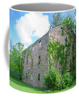 Coffee Mug featuring the photograph Bucks County Pa - Bridgetown Millhouse Ruins by Bill Cannon
