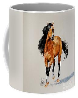 Buckskin Thoroughbred Coffee Mug