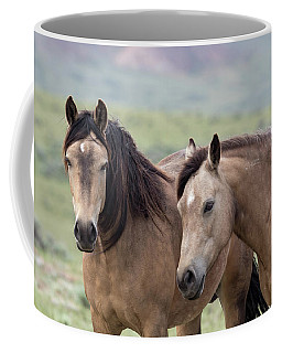 Coffee Mug featuring the photograph Buckskins by Ronnie and Frances Howard