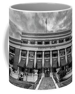 Coffee Mug featuring the photograph Buckstaff Baths - Bw by Stephen Stookey