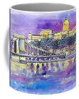 Budapest At Night II Coffee Mug