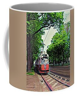 Budapest Trolley Coffee Mug