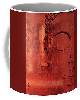Buddha Appears Coffee Mug by Julie Hoyle