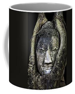 Buddha Head In Banyan Tree Coffee Mug