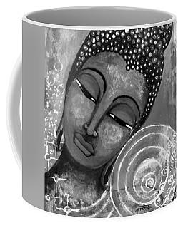 Buddha In Grey Tones Coffee Mug