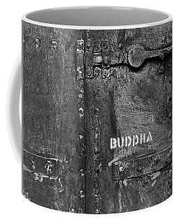 Buddha Coffee Mug by Laurie Stewart