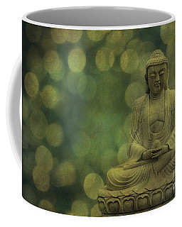 Buddha Light Gold Coffee Mug