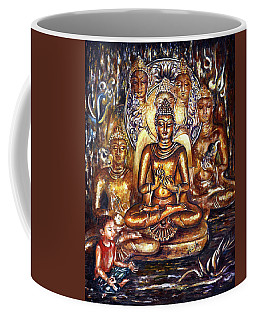 Buddha Reflections Coffee Mug by Harsh Malik