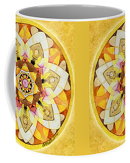 Buddha Sun Mandala Coffee Mug