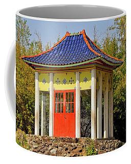 Buddha Temple Coffee Mug by Helen Haw