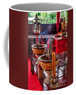 Buddhist Incense Coffee Mug