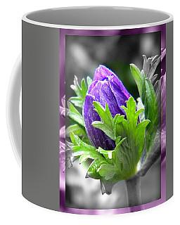 Coffee Mug featuring the photograph Budding Flower by Amanda Eberly-Kudamik