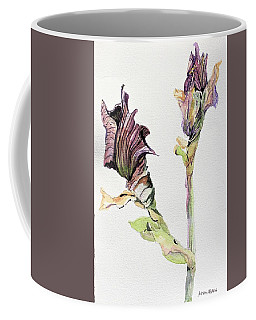 Budding Irises Coffee Mug