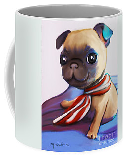 Buddy The Pug Coffee Mug