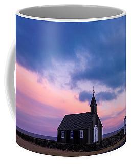 Budir Black Church Coffee Mug