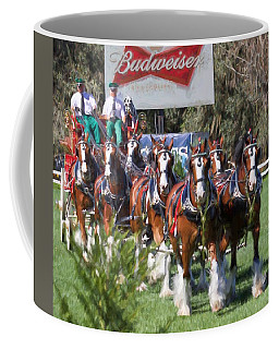 Budweiser Clydesdales Perfection Coffee Mug