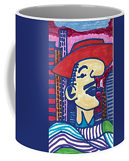 Coffee Mug featuring the mixed media Buenos Aires Casanova by Don Koester