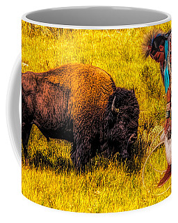 Buffalo And Navajo Coffee Mug
