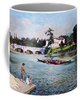 Buffalo  Fishing Day Coffee Mug
