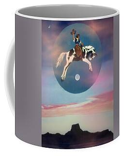 Buffalo Girls Over Abiquiu I Coffee Mug by Anastasia Savage Ealy