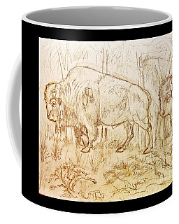 Buffalo Trail  Coffee Mug
