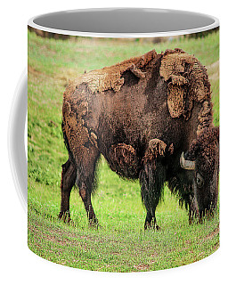 Coffee Mug featuring the photograph Buffler by Scott Cordell