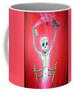Bug Bomb Coffee Mug by Heather Calderon