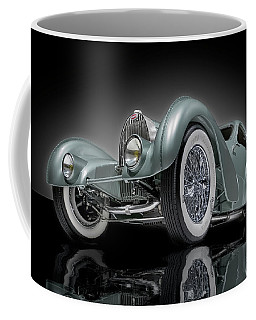 Bugatti Aerolithe Recreation Coffee Mug by Gary Warnimont