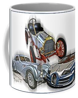 Bugatti Evolution Coffee Mug