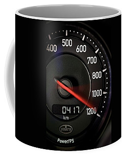 Bugatti Power /ps Coffee Mug by Sheila Mcdonald