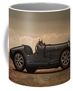 Bugatti Type 35 1924 Mixed Media Coffee Mug