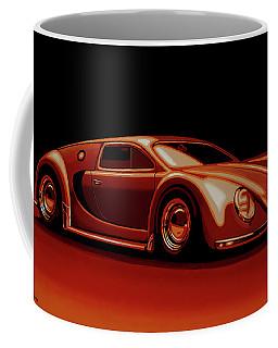 Bugatti Veyron 'beetgatti' 1945 Painting Coffee Mug