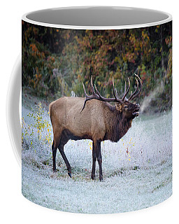 Bugle Of The Elk Coffee Mug