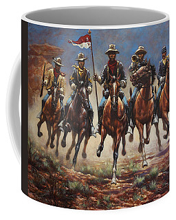 Bugler And The Guidon Coffee Mug