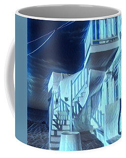Building At Harbour  Coffee Mug