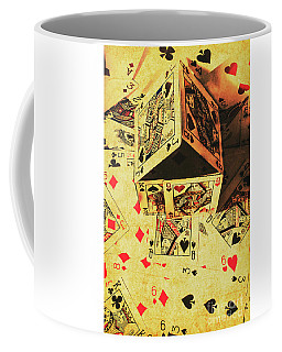Coffee Mug featuring the photograph Building Bets And Stacking Odds by Jorgo Photography - Wall Art Gallery