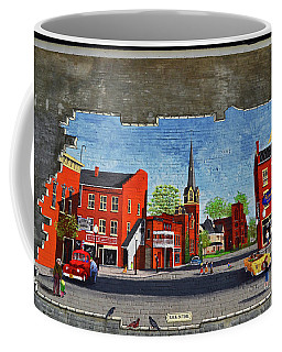 Building Mural - Cuba New York 001 Coffee Mug