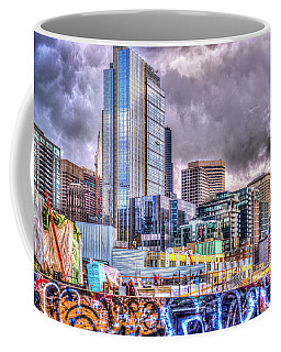 Building Seattle Coffee Mug by Spencer McDonald