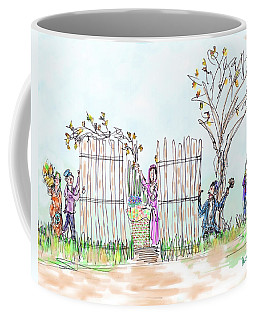 Building The Sukkot Coffee Mug
