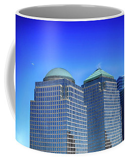 Buildings 2,3,4 In New York's Financial District Coffee Mug