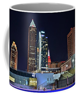 Coffee Mug featuring the photograph Buildings New And Old by Frozen in Time Fine Art Photography
