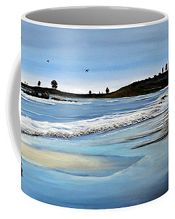 Bull Beach 2 Coffee Mug