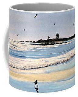 Bull Beach Coffee Mug